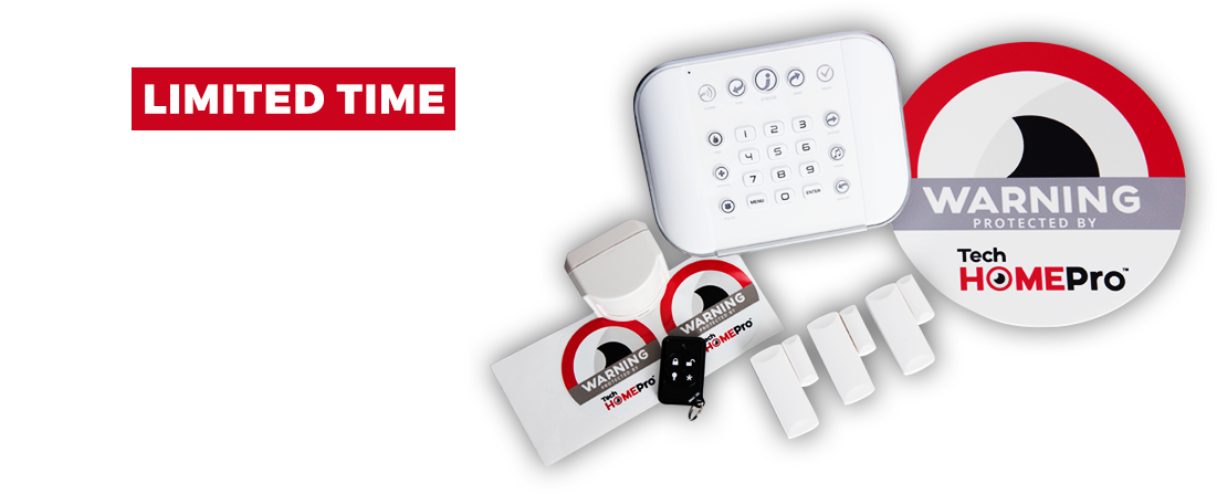 Limited Time - $99 Starter Kit from TechHomePro - Home Security Systems